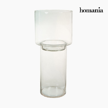 Lyseholder Glas - Pure Crystal Deco Samling by Homania