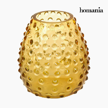 Vase Glass - Crystal Colours Deco Collection by Homania