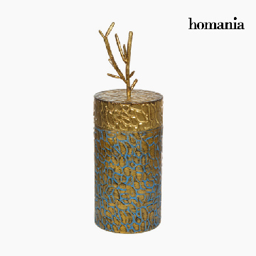 Box with cover Metal Gylden by Homania