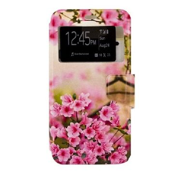 Case Huawei G8 Ref. 197083 PU Pink Blomster