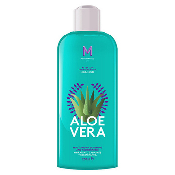 Fugtgivende bodylotion After Sun Aloe Vera Mediterraneo Sun (200 ml)