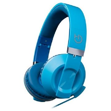 Headphones with Microphone Hiditec COOL KIDS WHP010008 Dark blue