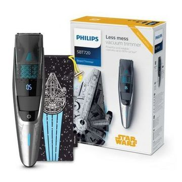 Barbermaskine Star Wars Philips SBT720/15 Sort Sølvfarvet