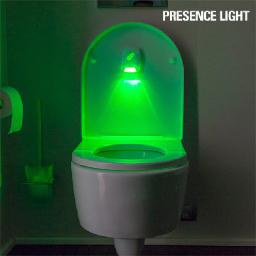 Presence Light Belysning til Toilettet