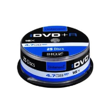 DVD + R INTENSO 4111154 16x 4.7 GB 25 pcs