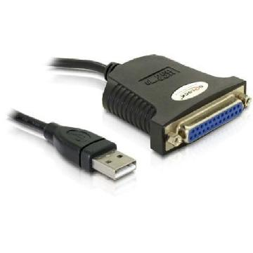 Delock Adaptor Cable USB 1.1 a forlelo(DB25H)