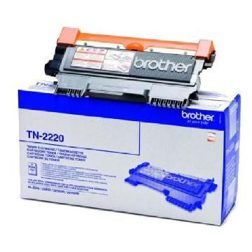 Original toner Brother TN-2220 Sort