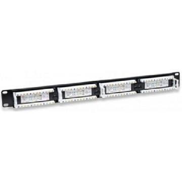 24-port UTP kategori 5e Patch Panel WP WPC-PAN-5U-24 19""