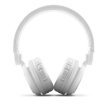 Energy System Headphones+Microphone DJ2 White