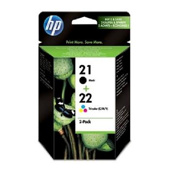 HP SD367AE pack Blækpatroner sort+tre-farvet HP21+HP22