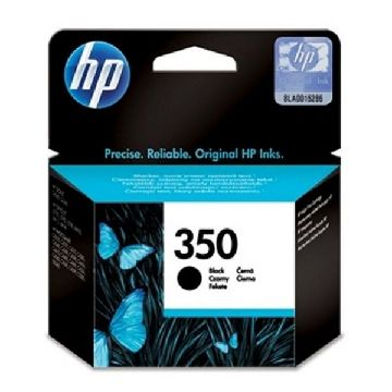 HP 350 CB335EE Blækpatron sort Officejet/Photosmart