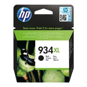 HP 934XL Blækpatron sort C2P23AE Officejet 6230