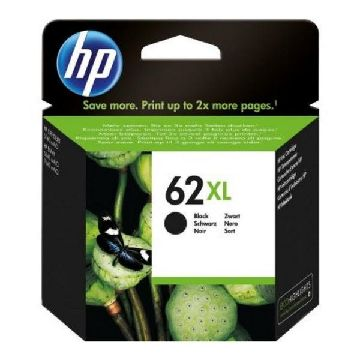 HP 62XL Blækpatron sort C2P05ae Officejet 5740