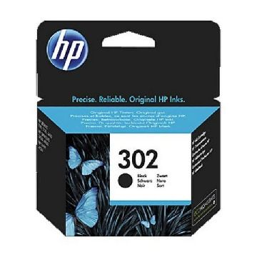 HP 302 F6U66AE Blækpatron sort Officejet 3830