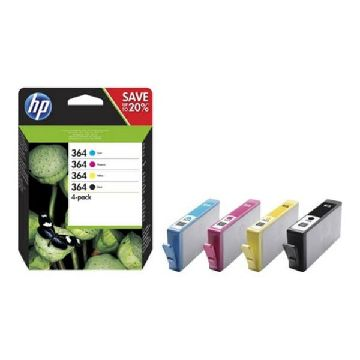 HP 364 multipack (4farvees) N9J73AE