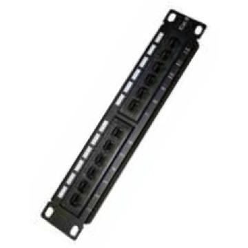 12-port UTP kategori 6 Patch Panel Monolyth 3002001 10""