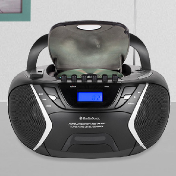AudioSonic CD1596 MP3 USB CD Radio-Kassetteafspiller