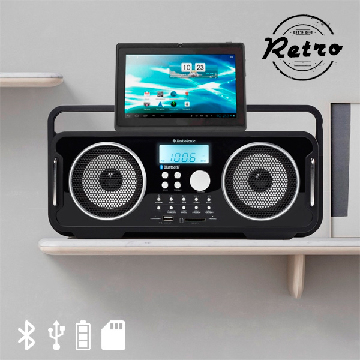 AudioSonic RD1556 Genopladelig Bluetooth Retroradio