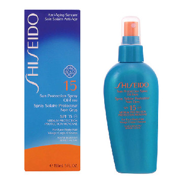 Shiseido - SUN PROTECTION oil-free SPF15 vaporizador 150 ml