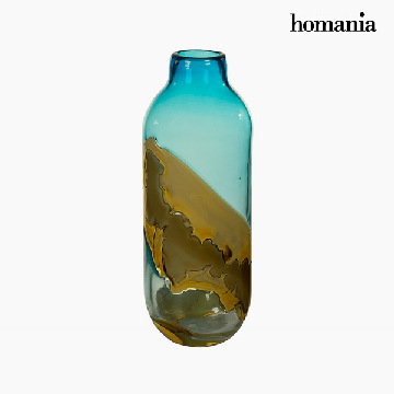 Vase Crystal (12 x 12 x 33 cm) - Pure Crystal Deco Collection by Homania