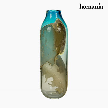 Vase Crystal (14 x 14 x 44 cm) - Pure Crystal Deco Collection by Homania