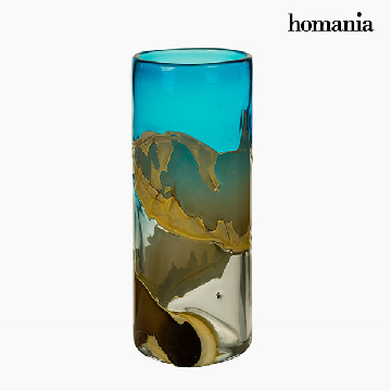 Vase Crystal (14 x 14 x 35 cm) - Pure Crystal Deco Collection by Homania