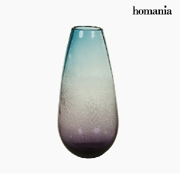 Vase Crystal (18 x 18 x 37 cm) - Pure Crystal Deco Collection by Homania