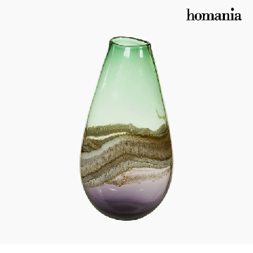 Vase Crystal (19 x 15 x 37 cm) - Pure Crystal Deco Collection by Homania