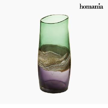Vase Crystal (13 x 15 x 30 cm) - Pure Crystal Deco Collection by Homania