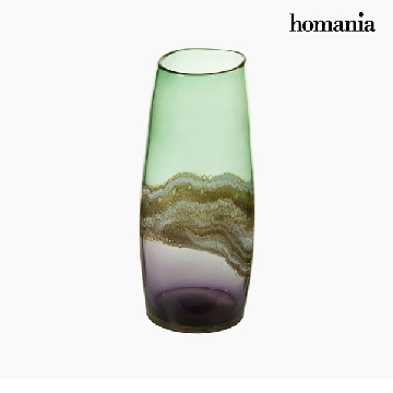 Vase Crystal (17 x 17 x 36 cm) - Pure Crystal Deco Collection by Homania