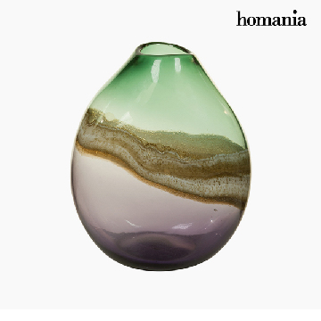 Vase Crystal (25 x 20 x 33 cm) - Pure Crystal Deco Collection by Homania