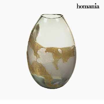 Vase Crystal (20 x 13 x 28 cm) - Pure Crystal Deco Collection by Homania