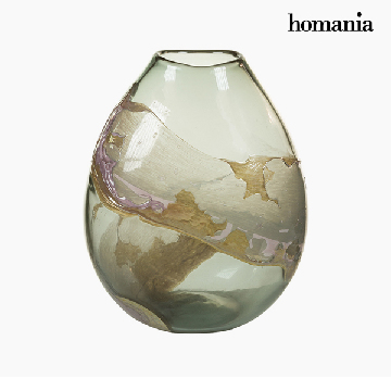 Vase Crystal (27 x 17 x 31 cm) - Pure Crystal Deco Collection by Homania
