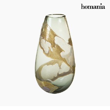 Vase Crystal (21 x 14 x 37 cm) - Pure Crystal Deco Collection by Homania