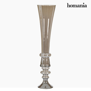 Vase (21 x 21 x 85 cm) - Pure Crystal Deco Samling by Homania