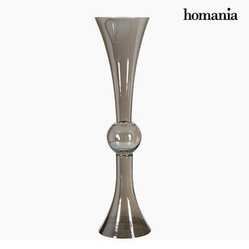 Vase (19 x 19 x 75 cm) - Pure Crystal Deco Samling by Homania