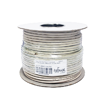 iggual Reel Cable RJ45 CAT6 UTP Rigid 100Mts