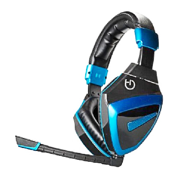 Gaming Headset Hovedtelefoner Hiditec Headphones + Microphone Gaming HDT1 XBOXONE-PS4-PC