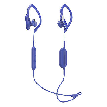 Bluetooth sports headset med mikrofon Panasonic RP-BTS10E-A Waterproof Blå