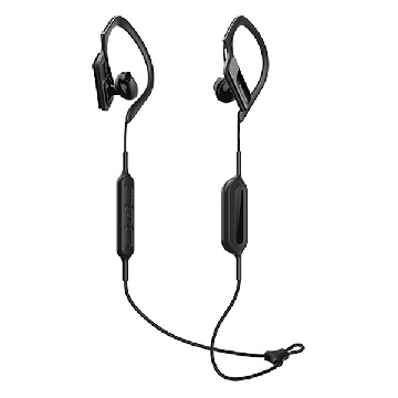 Bluetooth sports headset med mikrofon Panasonic RP-BTS10E-K Waterproof Sort