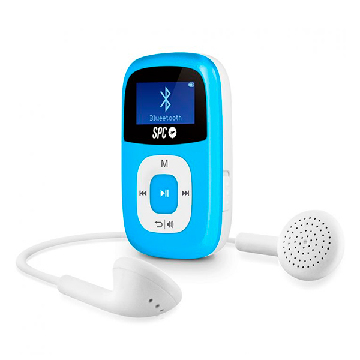 MP3 Player SPC 8668A 8 GB BLUETOOTH RADIO FM Blue
