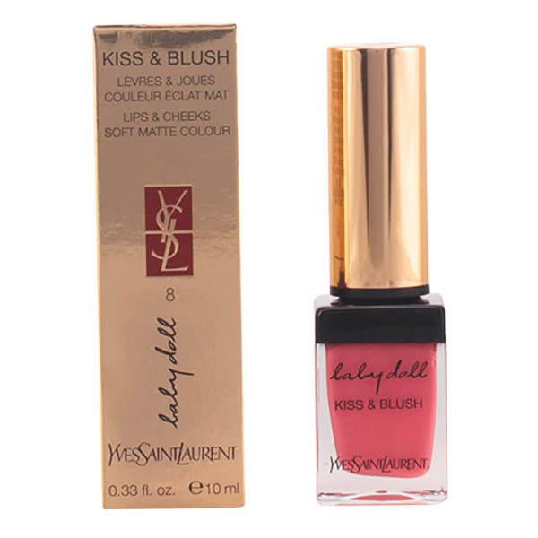 Yves Saint Laurent - BABY DOLL KISS&BLUSH 08-pink hedoniste 10 ml