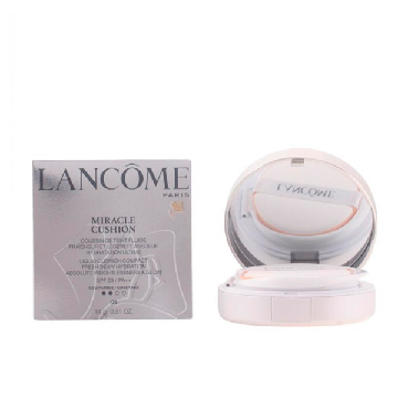 Lancome - MIRACLE CUSHION fluide SPF23 04-beige miel 14 gr
