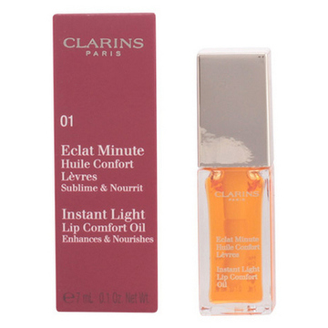 Fugtgivende læbepomade Eclat Minute Clarins 06 - Mint - 7 ml