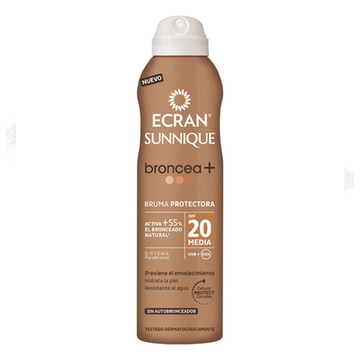 Solcreme spray Sun Lemonoil Ecran SPF 20 (250 ml)