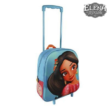 3D School Bag with Wheels Elena de Avalor 890