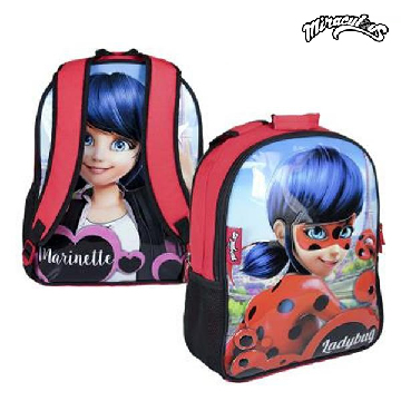 Reversible School Rucksack Lady Bug 822