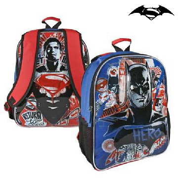 Reversible School Rucksack Batman vs Superman 860