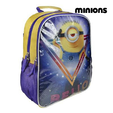 School Rucksack with LED Minions 952