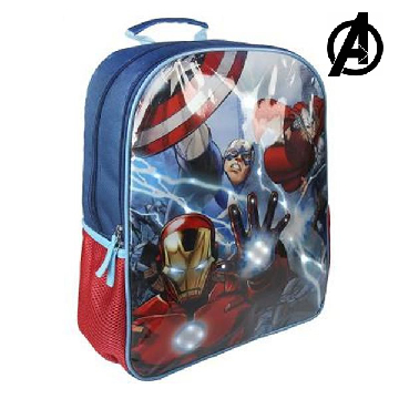 School Rucksack with LED The Avengers 969